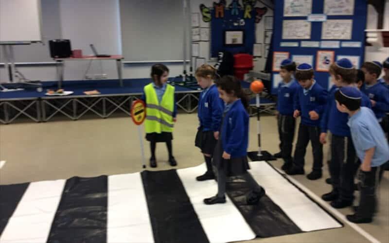 Sacks Morasha pupils learning all about road safety