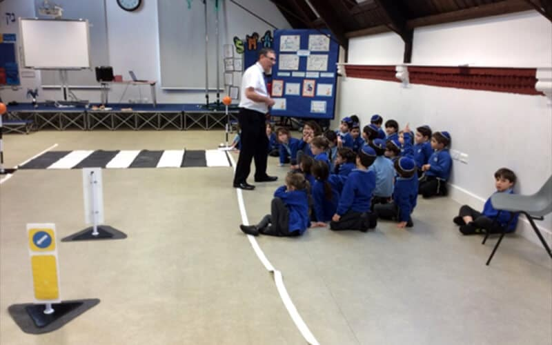 Sacks Morasha pupils learning all about road safety