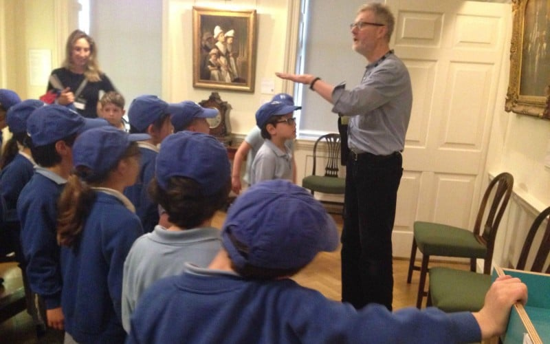 Sacks Morasha Year 2 pupils visiting the Foundling Museum