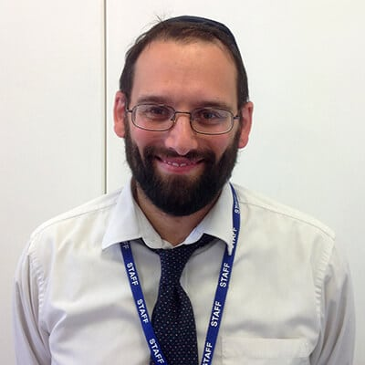Year 5 Kodesh Teacher - Rabbi Teper