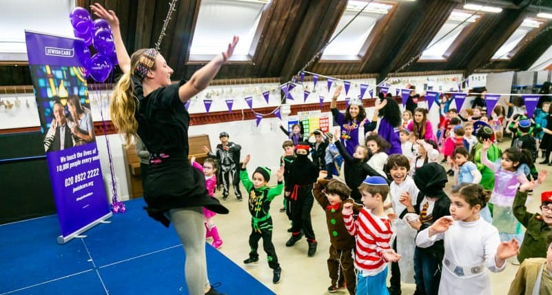 Purim Zumbathon in aid of Jewish Care